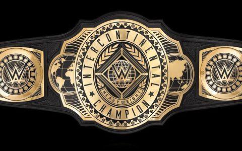 全新WWE洲际冠军腰带