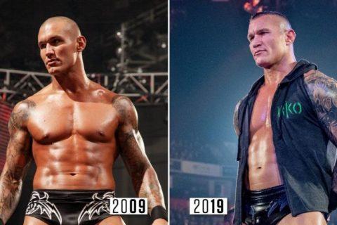 WWE巨星2009年-2019年十年变化