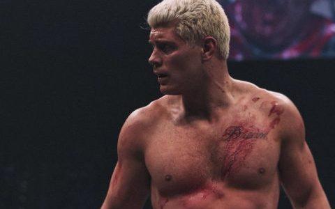AEW科迪罗兹对WWE新洲际冠军腰带做出回应