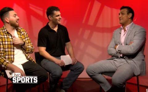 阿尔伯托德里奥做客TMZ体育暗示还想回归WWE