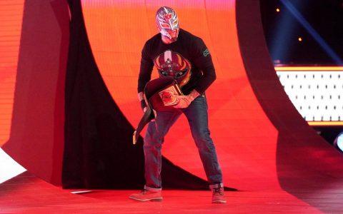 神秘人雷尔的儿子秘密训练将在WWE上首秀