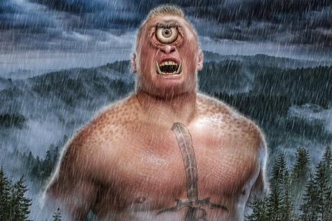 看被设计成怪物的WWE超级巨星,例如布洛克莱斯纳和约翰塞纳