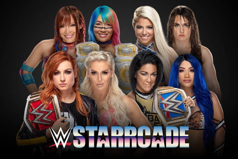 WWE Starrcade 2019:赛程和赛果评级