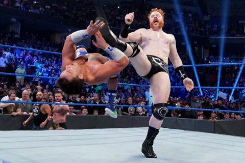 尽管莫里森、希莫斯、乌索兄弟回归,但本周WWE Smackdown收视率还是略低