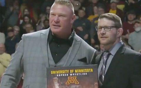 曝光!猛兽布洛克·莱斯纳回归WWE日期