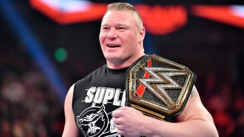 WWE超级巨星布洛克莱斯纳