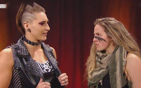 RAW第1394期:NXT女子冠军里普利要主动出击夏洛特,罗根质问里普利为何随意出入RAW却被无视和羞辱
