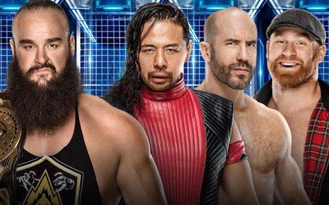 WWE密室牢笼淘汰大赛PPV,官方再确定两场比赛!