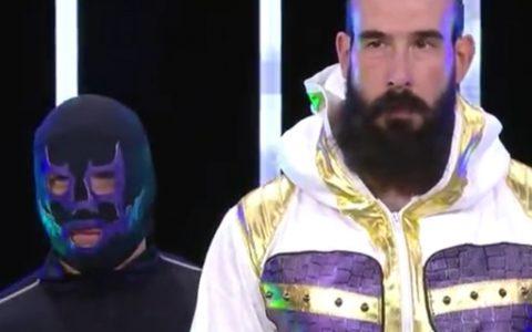 活佛布罗迪·李(原名WWE选手卢克哈珀)AEW精彩比赛