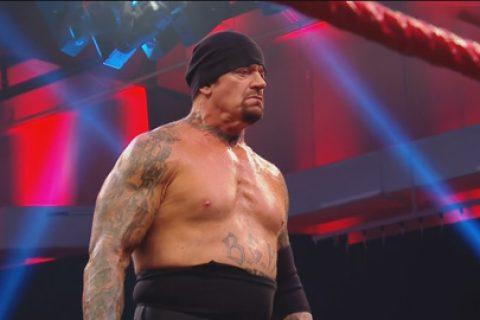 RAW第1399期:送葬者现身RAW和AJ斯泰尔斯签署狂热大赛比赛协议