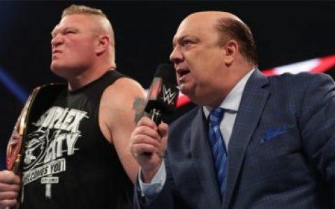 """""""布洛克·莱斯纳是最伟大的人!""""保罗海曼推特上怒怼WWE"""