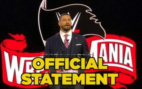 坦帕湾官方发布了关于摔角狂热的声明,已经购票的摔迷都可退票