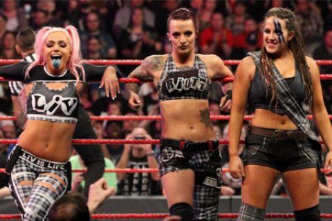 莎拉·洛根本周RAW准备登台,又被取消