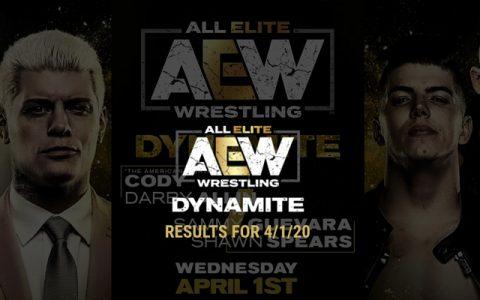 AEW Dynamite 第27期:TNT竞赛正式开打