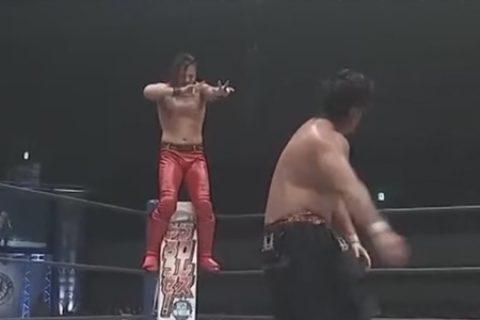 NJPW:中邑真辅vs.后藤广木