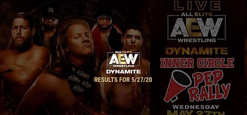 AEW Dynamite 第35期:复兴者首秀,泰森再次登场