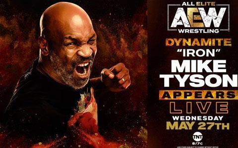 拳王泰森将继续出席AEW,魔蝎斯汀也将加盟!