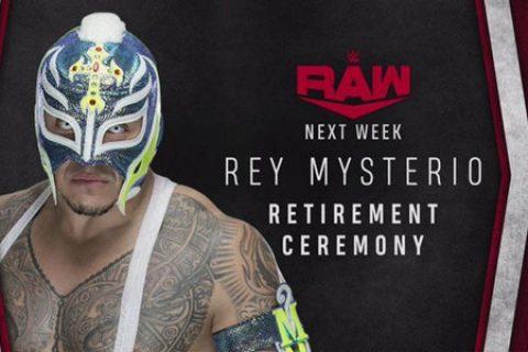 讲不出再见!神秘人雷尔下周RAW上宣布正式退役!