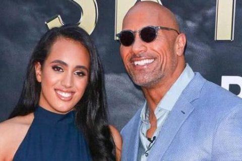 强森讨论女儿与WWE签约的问题