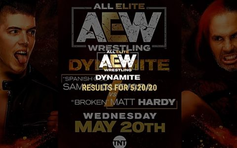 AEW Dynamite 第34期:乔恩·莫克斯利威胁布罗迪·李