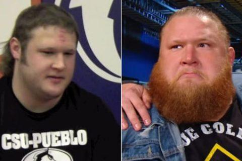 WWE超级巨星们,他们出道时的照片你见过吗?