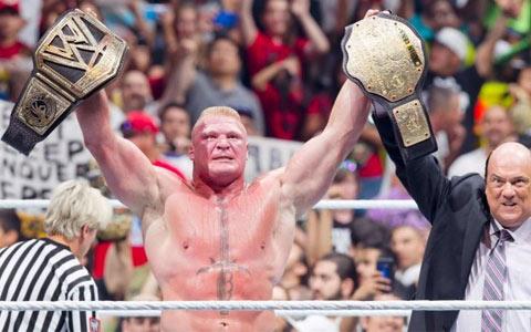 人无完人!布洛克·莱斯纳在WWE也有从未完成的事情