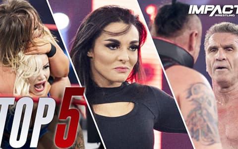 2020.06.09IMPACT摔角必看的5个时刻,女版RKO震惊四座