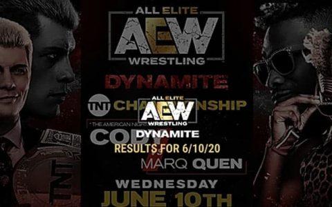 """AEW Dynamite 第37期:""""豹纹哥""""挑衅科迪·罗兹,欲争夺冠军头衔"""