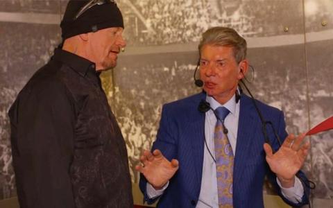 WWE传奇送葬者称,紧急关头只要文斯一个电话,马上复出!