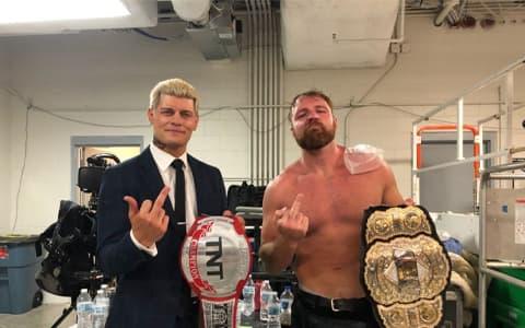 AEW所有冠军居然都是前WWE选手!WWE收容所成立了.....
