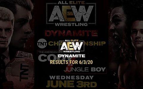 AEW Dynamite 第36期:克里斯·杰里柯再次挑衅泰森