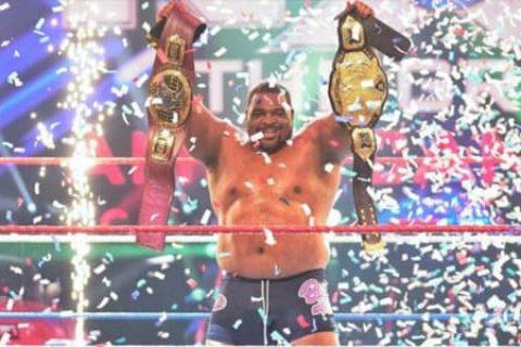 胖子的逆袭!基斯·李成为NXT首位双料冠军