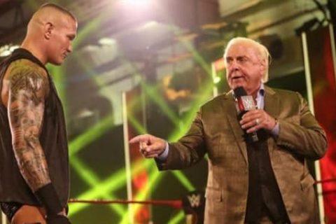 不服老的传奇!瑞克弗莱尔想挑战WWE24/7冠军!