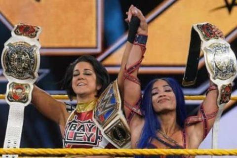 无剧情可用?WWE被迫加快贝莉与莎夏班克斯的背叛剧情!