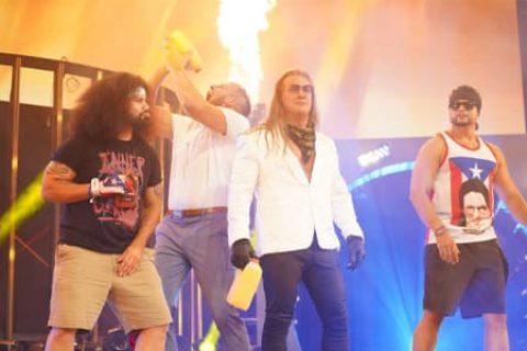 AEW下一个巨星?Y2J复制WWE经典桥段,只想帮助橘神上位!