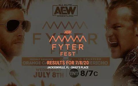 AEW Dynamite 第41期:橘神挑战克里斯·杰里科【特别版】