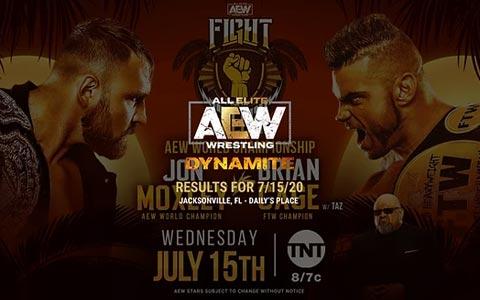 AEW Dynamite 第42期:科迪·罗兹大战人妖,乔恩·莫克斯利回归