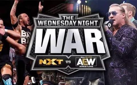 AEW再次无压力击败NXT!不过双方品牌收视都下降近十万收视率!
