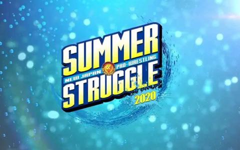 新日本摔角丨CupDay 07/27【Summer.Struggle】