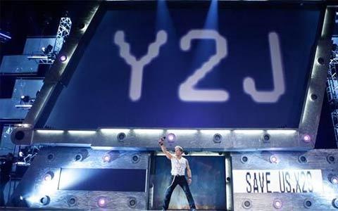 满满都是回忆!Y2J回忆恶劣态度时期最尊重的对手就是巨石强森!