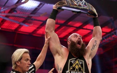 从黑羊宝宝到环球冠军!布朗斯图曼WWE职业生涯五周年纪念!