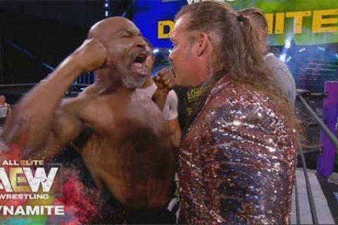 终极一战!2姐克里斯杰里科将与拳王迈克泰森在AEW打一场!