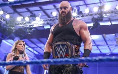 谁是WWE旗下最强壮的选手?传奇人物送葬者力挺人间怪兽布朗