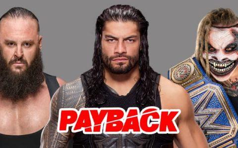 WWE 有仇必报大赛 2020