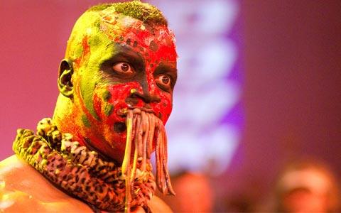 WWE最恐怖选手食虫者即将回归!