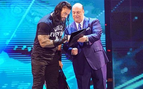 WWE有意将罗曼打造成布洛克·莱斯纳式冠军!冠军头衔至少卫冕到摔跤狂热37