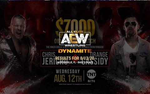 AEW Dynamite 第46期:新版TNT腰带亮相