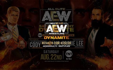AEW Dynamite 第47期:科迪·罗兹被打成重伤,布罗迪·李拿着TNT冠军扬长而去