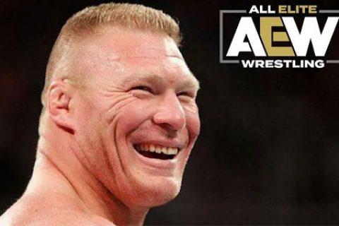 WWE最担心的事还是发生了,布洛克莱斯纳很可能已经与AEW签约!