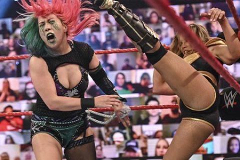 WWE官方声明昨天明日华和米琪事件